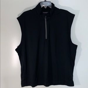 Roundtree & Yorke Pull Over Vest Shirt ZIP Up New